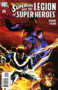 Cover Thumbnail for Supergirl and the Legion of Super-Heroes (DC, 2006 series) #35