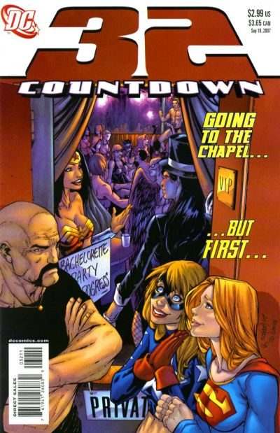 Cover for Countdown (DC, 2007 series) #32