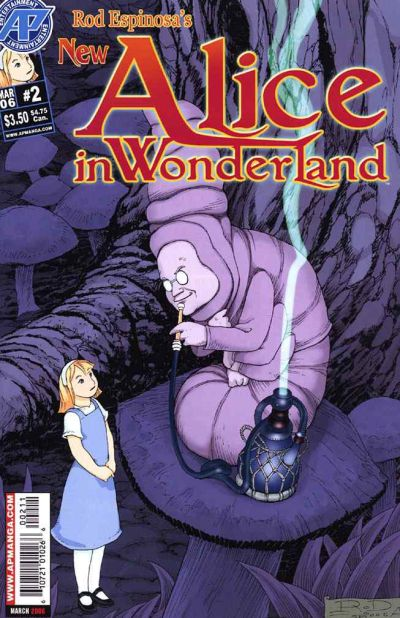 Cover for New Alice in Wonderland (2006 series) #2