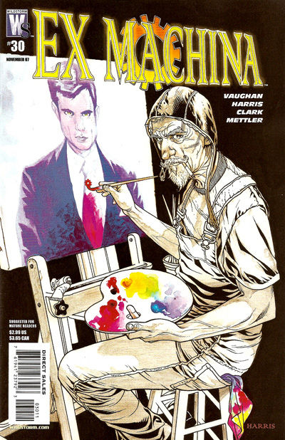 Cover for Ex Machina (DC, 2004 series) #30