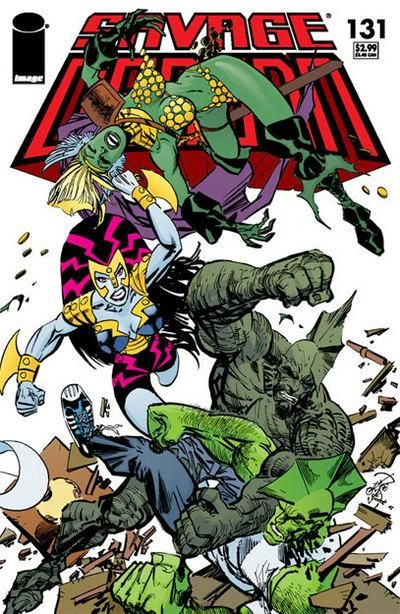 Cover for Savage Dragon (Image, 1993 series) #131