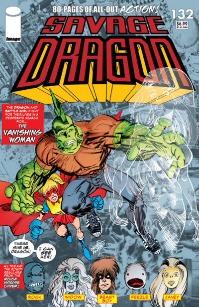 Cover for Savage Dragon (1993 series) #132