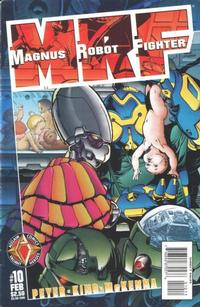 Cover Thumbnail for Magnus Robot Fighter (Acclaim / Valiant, 1997 series) #10