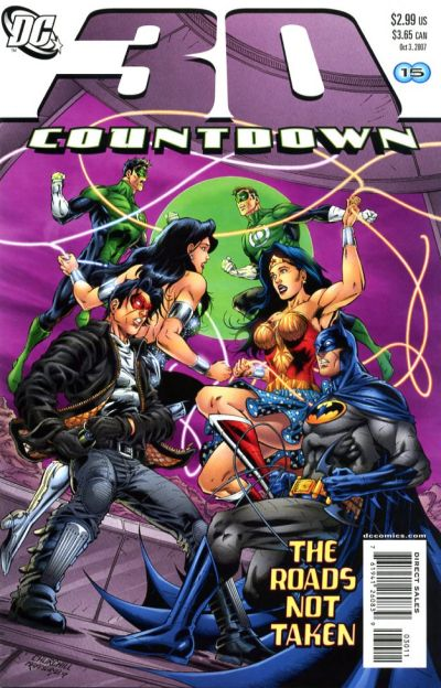 Cover for Countdown (2007 series) #30