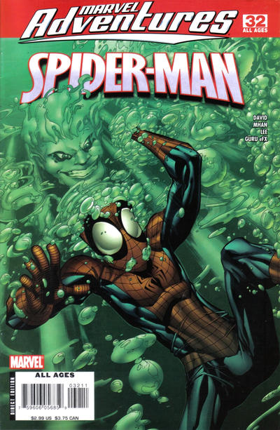 Cover for Marvel Adventures Spider-Man (2005 series) #32