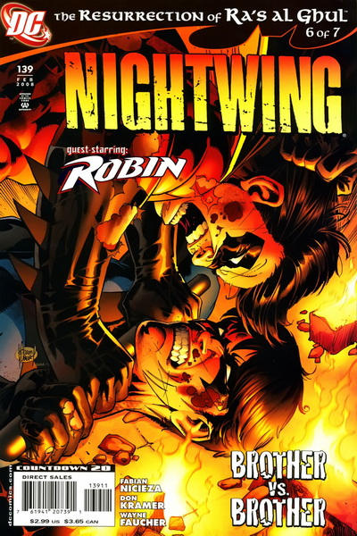 Cover for Nightwing (DC, 1996 series) #139 [2nd Print]
