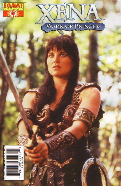 Cover for Xena (2006 series) #4 [Adriano Batista Cover]