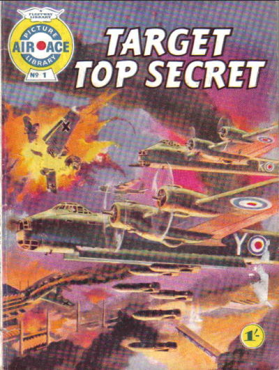 Cover for Air Ace Picture Library (IPC, 1960 series) #1