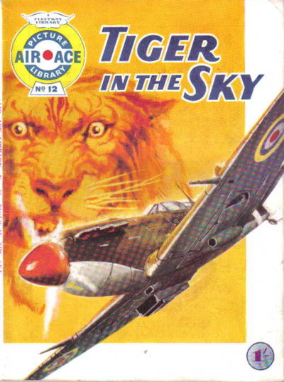 Cover for Air Ace Picture Library (IPC, 1960 series) #12