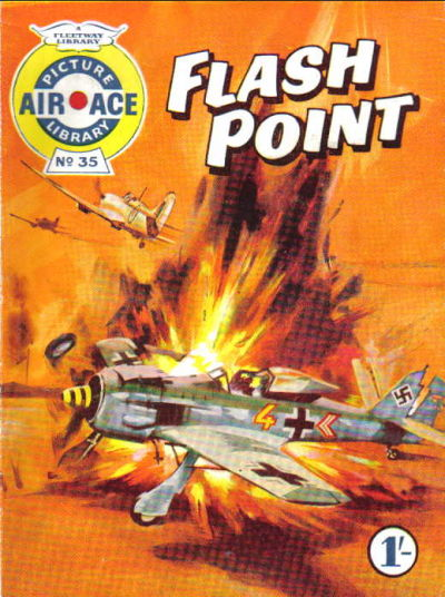 Cover for Air Ace Picture Library (IPC, 1960 series) #35