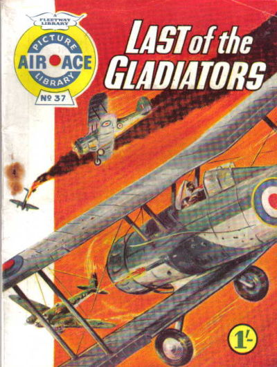 Cover for Air Ace Picture Library (IPC, 1960 series) #37