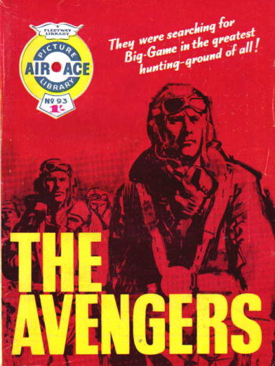 Cover for Air Ace Picture Library (IPC, 1960 series) #93
