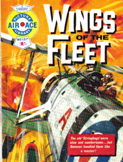 Cover for Air Ace Picture Library (IPC, 1960 series) #157