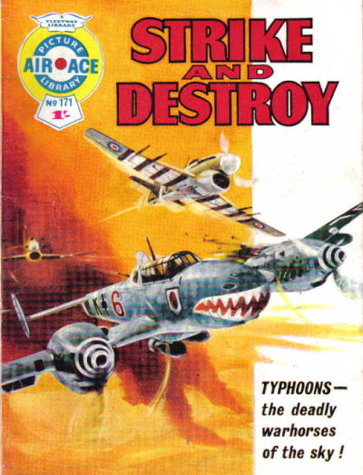 Cover for Air Ace Picture Library (IPC, 1960 series) #171