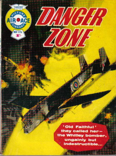 Cover for Air Ace Picture Library (IPC, 1960 series) #176