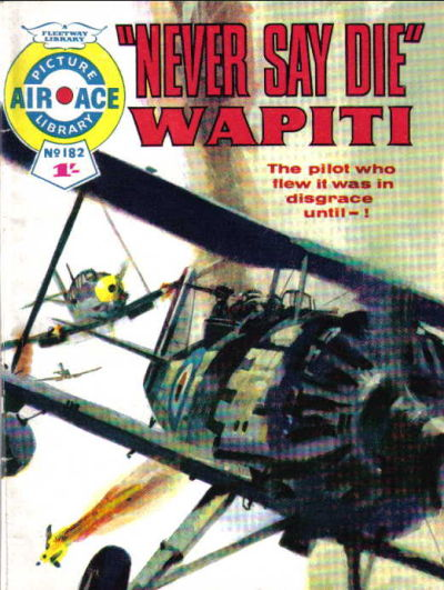 Cover for Air Ace Picture Library (IPC, 1960 series) #182