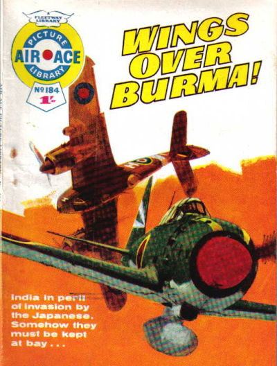 Cover for Air Ace Picture Library (IPC, 1960 series) #184
