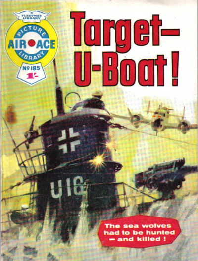 Cover for Air Ace Picture Library (IPC, 1960 series) #185