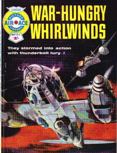 Cover for Air Ace Picture Library (IPC, 1960 series) #186