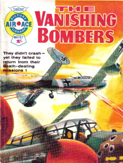 Cover for Air Ace Picture Library (IPC, 1960 series) #187