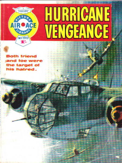 Cover for Air Ace Picture Library (IPC, 1960 series) #190