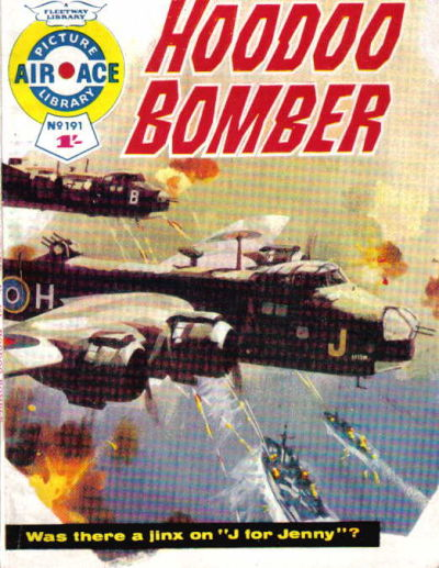 Cover for Air Ace Picture Library (IPC, 1960 series) #191
