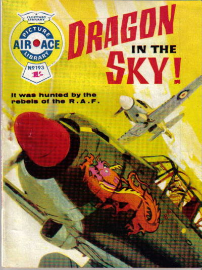 Cover for Air Ace Picture Library (IPC, 1960 series) #193