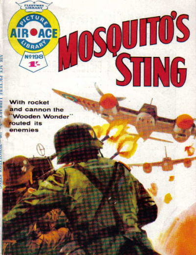 Cover for Air Ace Picture Library (IPC, 1960 series) #198