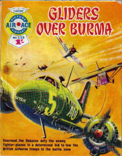 Cover for Air Ace Picture Library (1960 series) #228