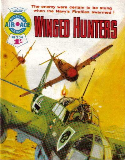 Cover for Air Ace Picture Library (IPC, 1960 series) #234