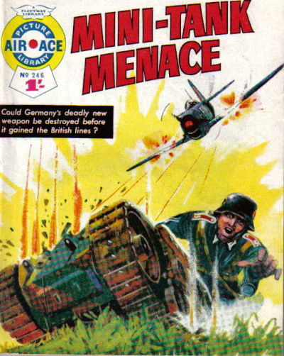 Cover for Air Ace Picture Library (IPC, 1960 series) #246