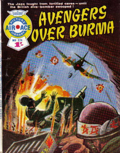 Cover for Air Ace Picture Library (IPC, 1960 series) #274