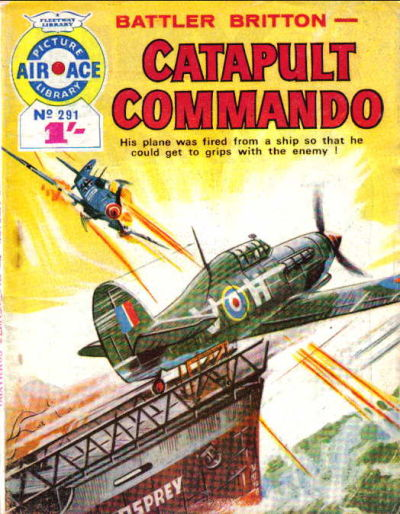 Cover for Air Ace Picture Library (IPC, 1960 series) #291