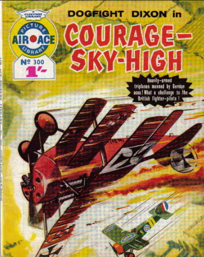 Cover for Air Ace Picture Library (IPC, 1960 series) #300