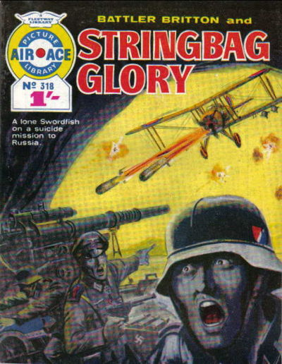 Cover for Air Ace Picture Library (IPC, 1960 series) #318