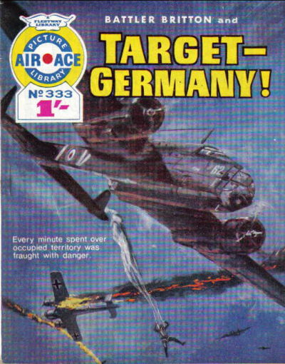 Cover for Air Ace Picture Library (IPC, 1960 series) #333