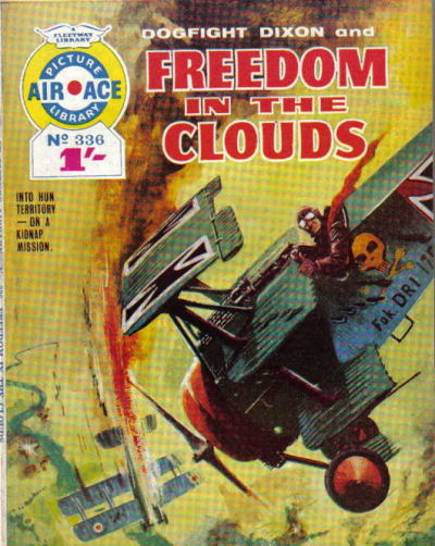Cover for Air Ace Picture Library (IPC, 1960 series) #336