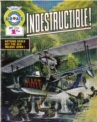 Cover for Air Ace Picture Library (IPC, 1960 series) #338