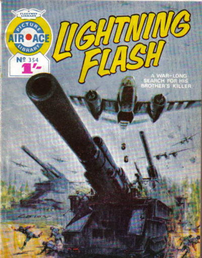 Cover for Air Ace Picture Library (IPC, 1960 series) #354