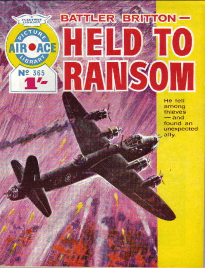Cover for Air Ace Picture Library (IPC, 1960 series) #365