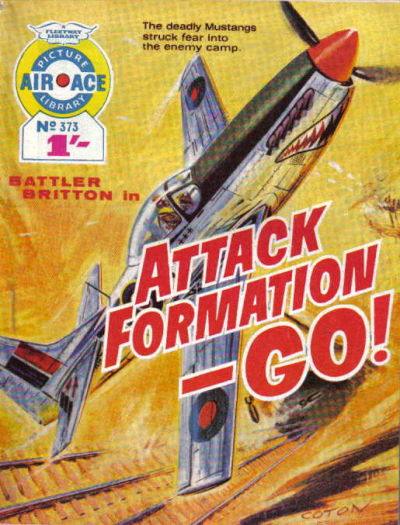 Cover for Air Ace Picture Library (IPC, 1960 series) #373