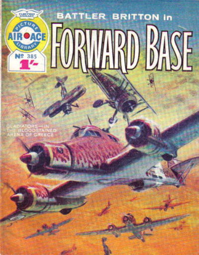 Cover for Air Ace Picture Library (IPC, 1960 series) #385