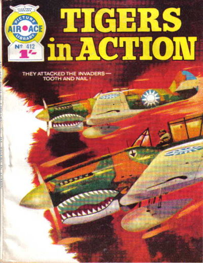 Cover for Air Ace Picture Library (IPC, 1960 series) #412