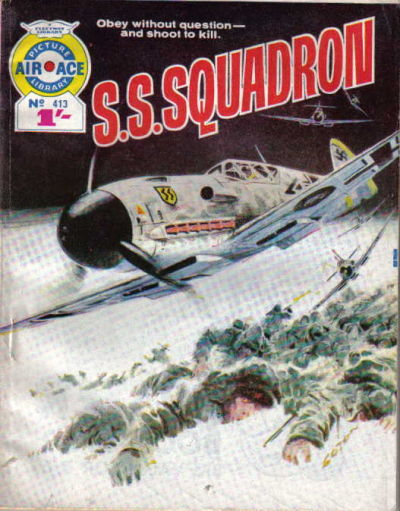 Cover for Air Ace Picture Library (IPC, 1960 series) #413