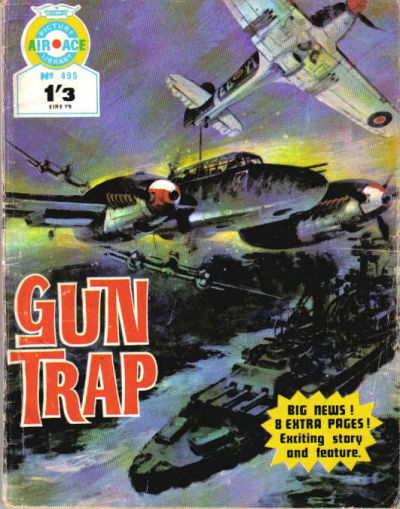 Cover for Air Ace Picture Library (IPC, 1960 series) #495