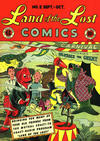 Cover for Land of the Lost Comics (EC, 1946 series) #2
