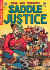 Cover for Saddle Justice (EC, 1948 series) #5