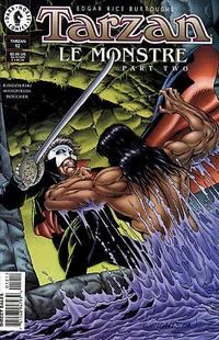 Cover for Tarzan (Dark Horse, 1996 series) #12