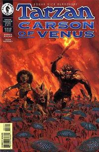 Cover Thumbnail for Tarzan / Carson of Venus (Dark Horse, 1998 series) #3