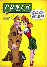 Cover Thumbnail for Punch Comics (Chesler / Dynamic, 1941 series) #17